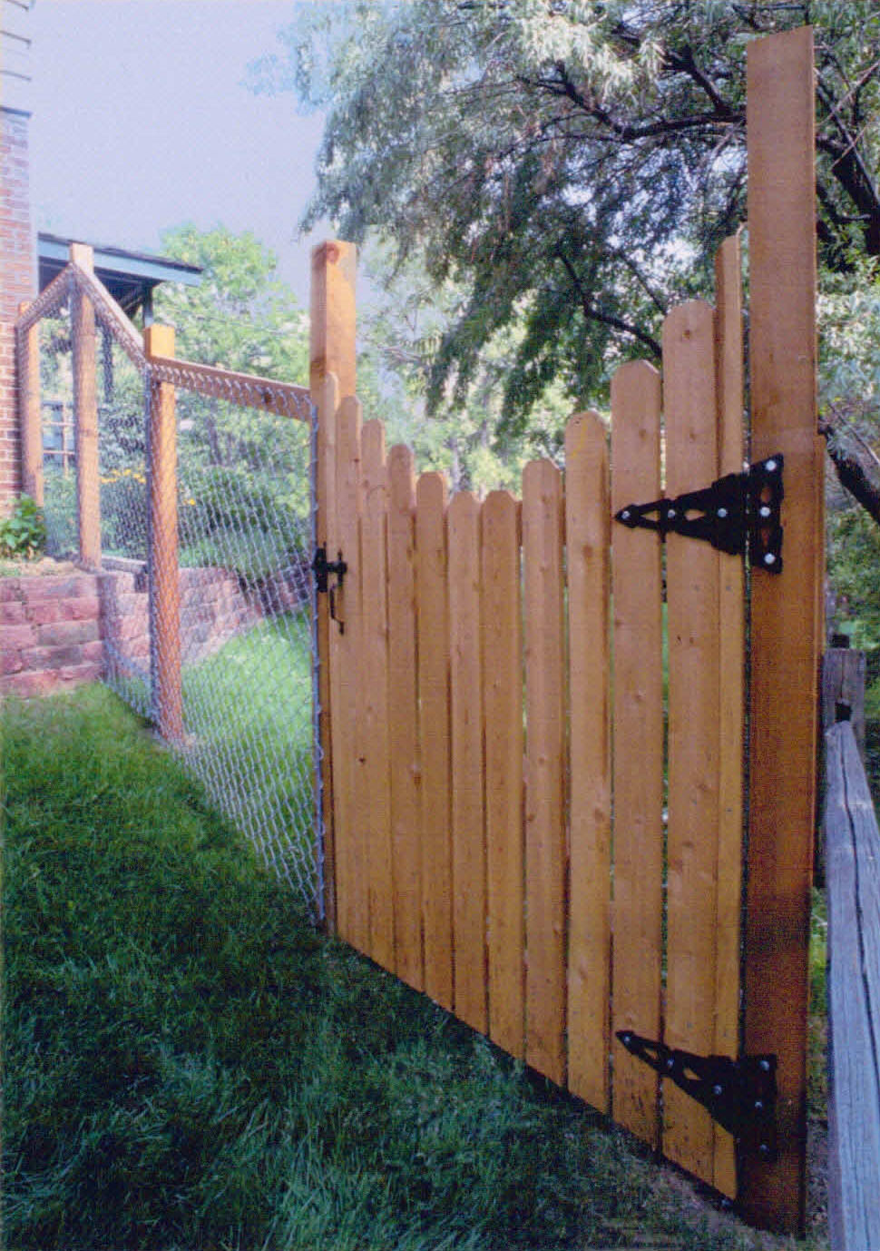 California Chain Link with Gates
