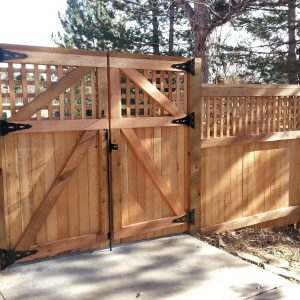 Custom fences and installation services in Denver, Colorado