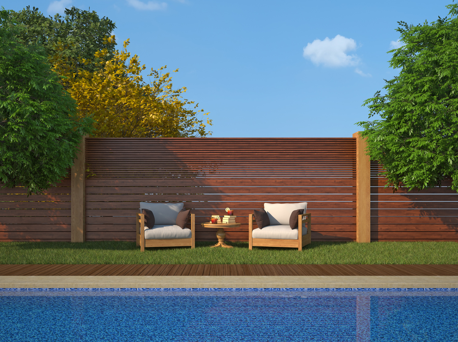 Luxury Garden With Swimming Pool Residential